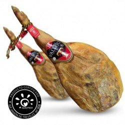 2 x Vallejo D.O. Trevélez hams on the bone (cured for more than 20 months)