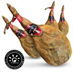 4 x Vallejo D.O Trevélez hams on the bone (cured for more than 20 months)