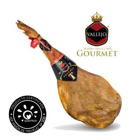 Vallejo Gourmet Ham on the Bone (cured for up to 24 months)